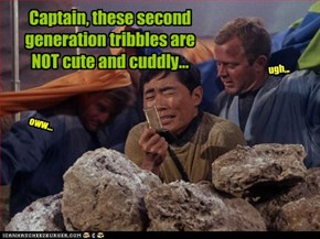 Please Help Us These New Tribbles Are Terrible!