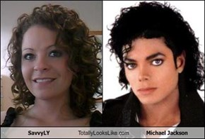 SavvyLY Totally Looks Like Michael Jackson