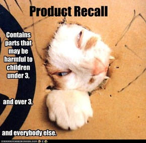 Contains parts that may be harmful to children under 3,