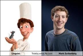 Linguini Totally Looks Like Mark Zuckerberg