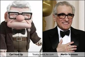 Carl from Up Totally Looks Like Martin Scorsese