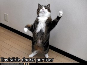 Invisible dance partner
