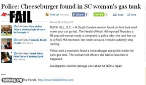 Cheeseburger Fail