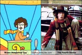 Wawa Hoagiefest Guy Totally Looks Like The Fourth Doctor