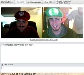 Luigi, Itsa Me Mario!