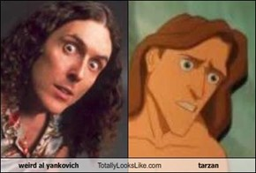 weird al yankovich Totally Looks Like tarzan