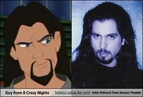 Guy from 8 Crazy Nights Totally Looks Like John Petrucci from Dream Theater