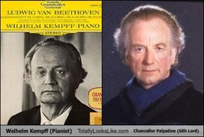 Welhelm Kempff (Pianist) Totally Looks Like Chancellor Palpatine (Sith Lord)