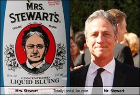 Mrs. Stewart Totally Looks Like Mr. Stewart
