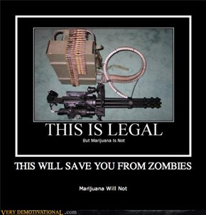 THIS WILL SAVE YOU FROM ZOMBIES