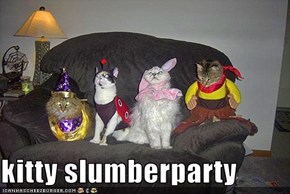 kitty slumberparty