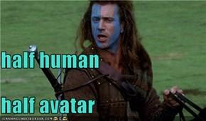 half human half avatar