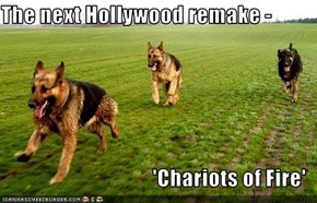The next Hollywood remake -   'Chariots of Fire'