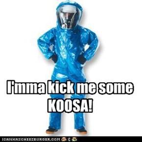 I'mma kick me some KOOSA!
