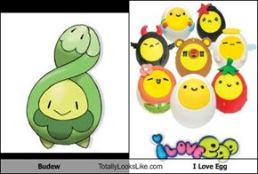 Budew Totally Looks Like I Love Egg