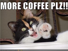 MORE COFFEE PLZ!!!!