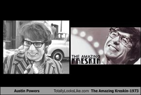 Austin Powers Totally Looks Like The Amazing Kreskin-1973