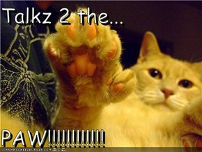Talkz 2 the...  PAW!!!!!!!!!!!!