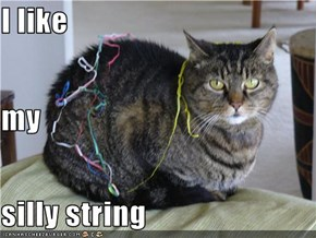 I like  my silly string