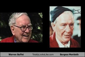Warren Buffet Totally Looks Like Burgess Merideth