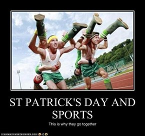 ST PATRICK'S DAY AND SPORTS