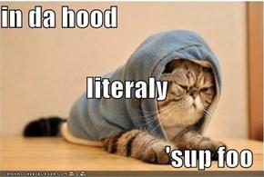 in da hood literaly 'sup foo