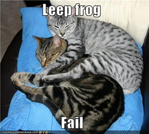 Leep frog  Fail