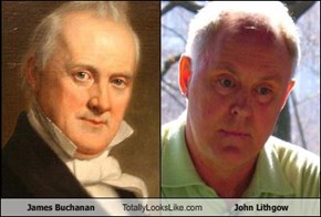 James Buchanan Totally Looks Like John Lithgow