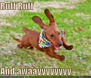 Ruff Ruff  And awaayyyyyyyy
