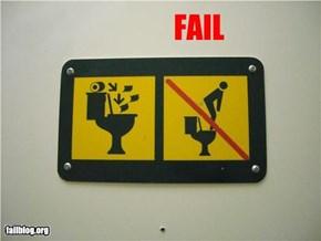 Toilet Fail