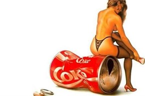 Vintage Coke Nymph