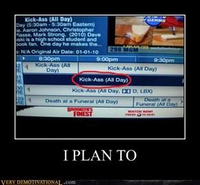 I PLAN TO