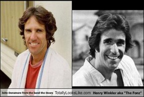 "John Densmore from the band the Doors Totally Looks Like Henry Winkler aka ""The Fonz"""