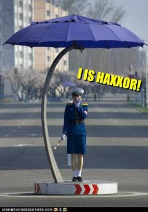 I IZ HAXXOR
