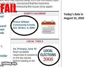 Washington Post Dates Fail