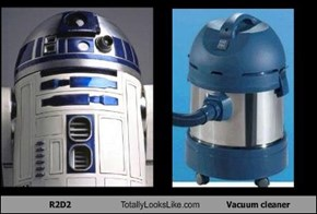 R2D2 Totally Looks Like Vacuum cleaner