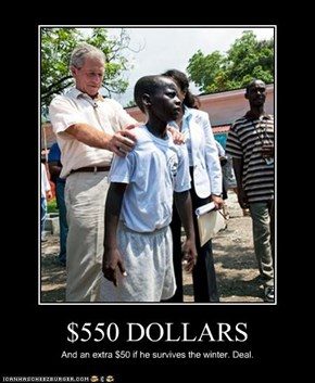 $550 DOLLARS