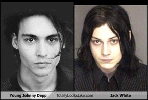 Young Johnny Depp Totally Looks Like Jack White