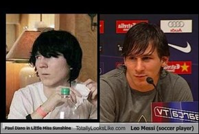 Paul Dano in Little Miss Sunshine Totally Looks Like Leo Messi (soccer player)