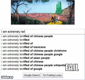 Google auto-complete FAIL