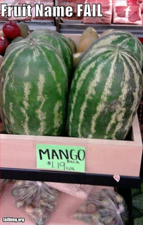 Fruit Name FAIL