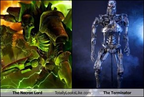 The Necron Lord Totally Looks Like The Terminator