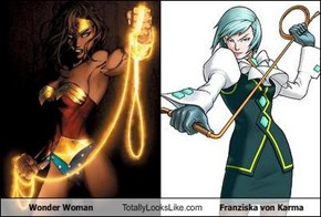 Wonder Woman Totally Looks Like Franziska von Karma
