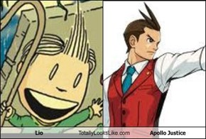 Lio Totally Looks Like Apollo Justice