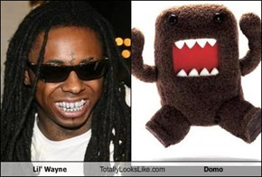 Lil' Wayne Totally Looks Like Domo