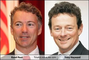 Rand Paul Totally Looks Like Tony Hayward