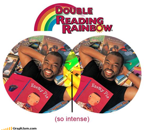 As if LeVar Burton Needed More Intensity