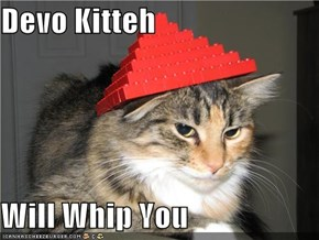Devo Kitteh  Will Whip You