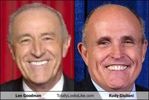 Len Goodman Totally Looks Like Rudy Giuliani