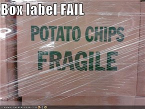 Box label FAIL